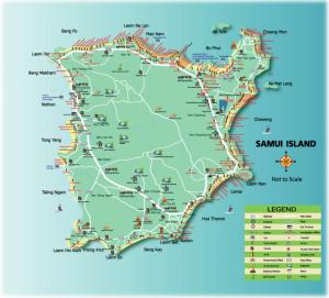 Koh Samui karta 5