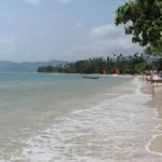 Strandkant i Koh Samui