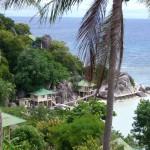 Trevlig utsikt i Koh Samui
